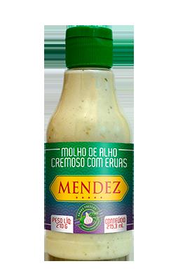 foto: Molho de Alho Cremoso com Ervas Mendez 215ml