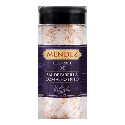 foto: Sal de Parrilla Gourmet Alho Frito Mendez 360g