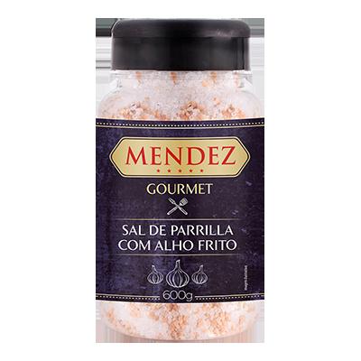 foto: Sal de Parrilla Gourmet Alho Frito Mendez 600g