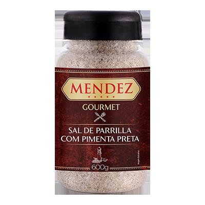 foto: Sal de Parrilla Gourmet Pimenta do Reino Mendez 600g