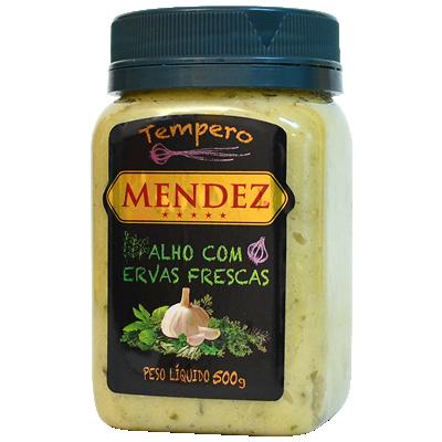 foto: Tempero Alho com Ervas Frescas Mendez 500g